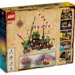 LEGO 21322 Pirate of Barracuda Bay Box (Rücksansicht)