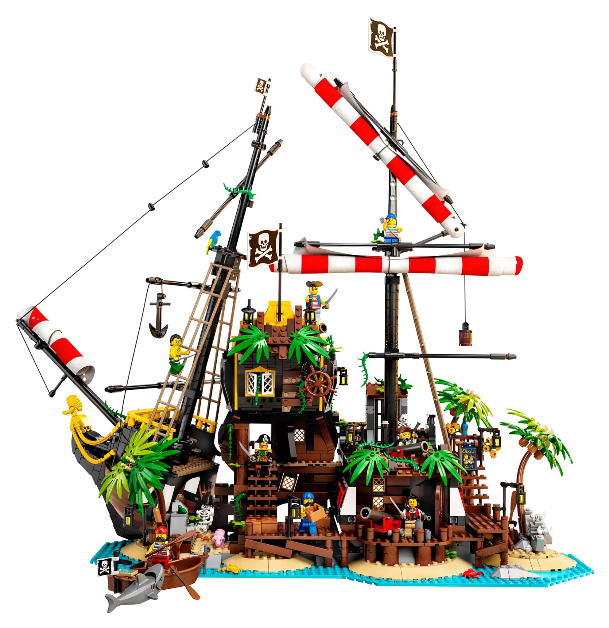 LEGO 21322 Pirate of Barracuda Bay (Seitenansicht)