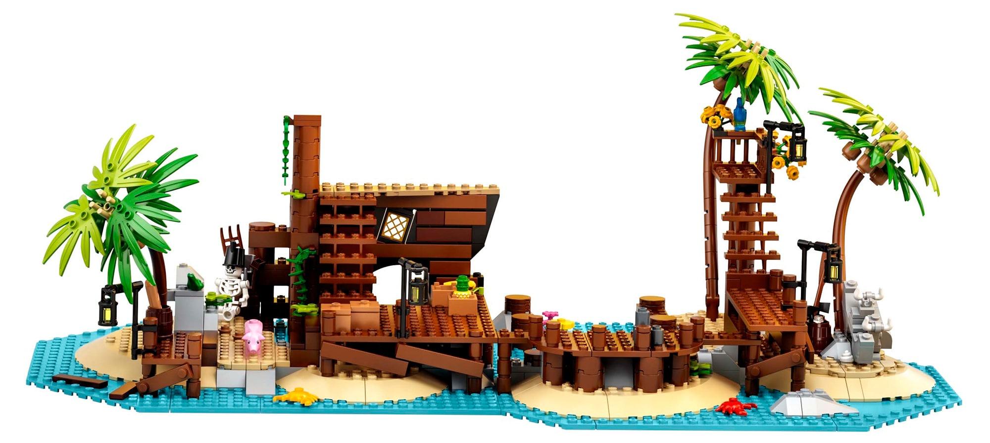 Die Überreste der Pirates of Barracuda Bay, wenn das Schiff entnommen wurde