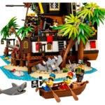 Das Beiboot der LEGO 21322 Pirate of Barracuda Bay