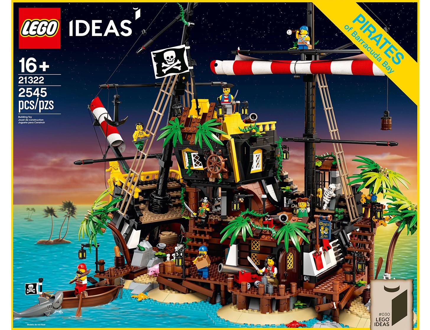 LEGO 21322 Pirates of Barracuda Bay Box Design