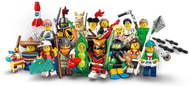 LEGO 71027 Minifiguren Serie 20: Alle Minifiguren