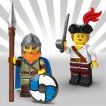 LEGO Minifiguren Serie 20: Vikinger und Piratin