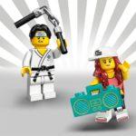 LEGO Minifiguren Serie 20: Nunchaku-Typ und Hiphop-Mädchen