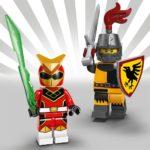 LEGO Minifiguren Serie 20: Red Ranger und Ritter