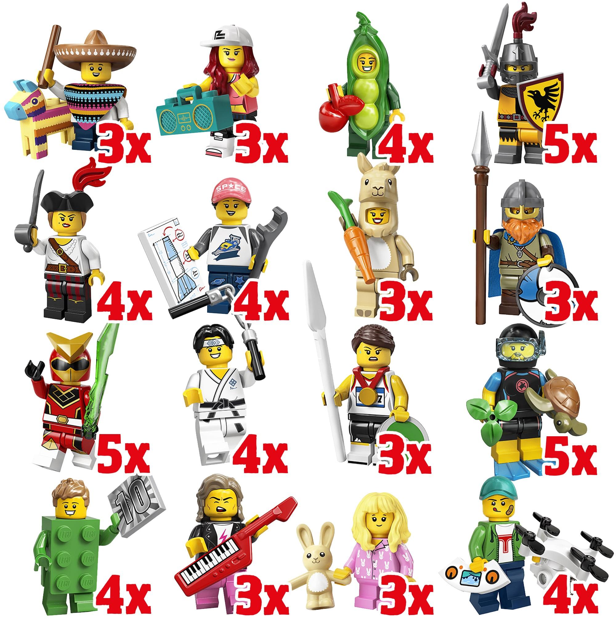 LEGO 71027 Minifiguren Serie 20 Box-Verteilung