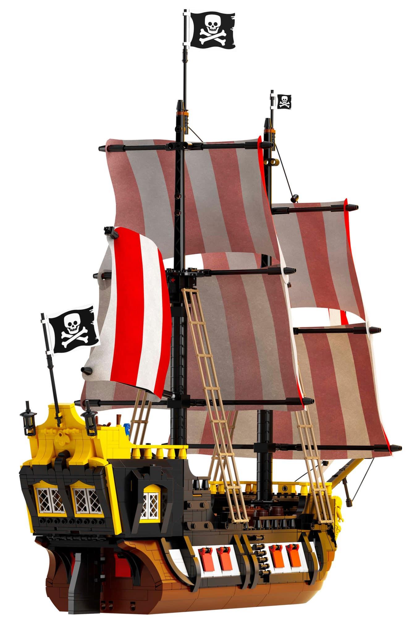 LEGO 21322 Black Seas Barracuda (2020)
