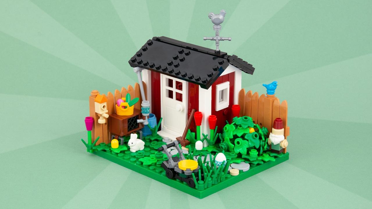 LEGO Garten MOC Titelbild