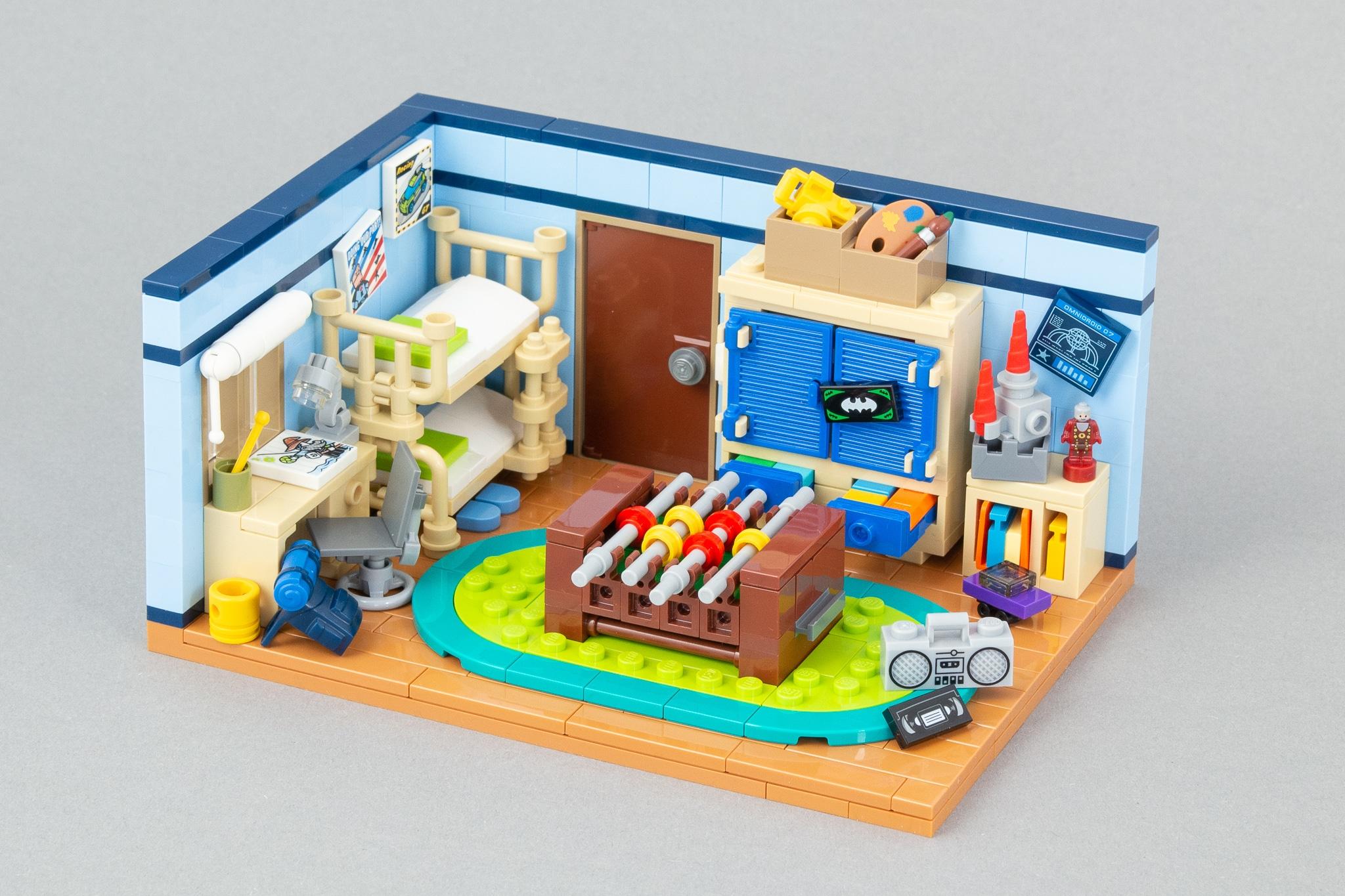 LEGO MOC Kinderzimmer