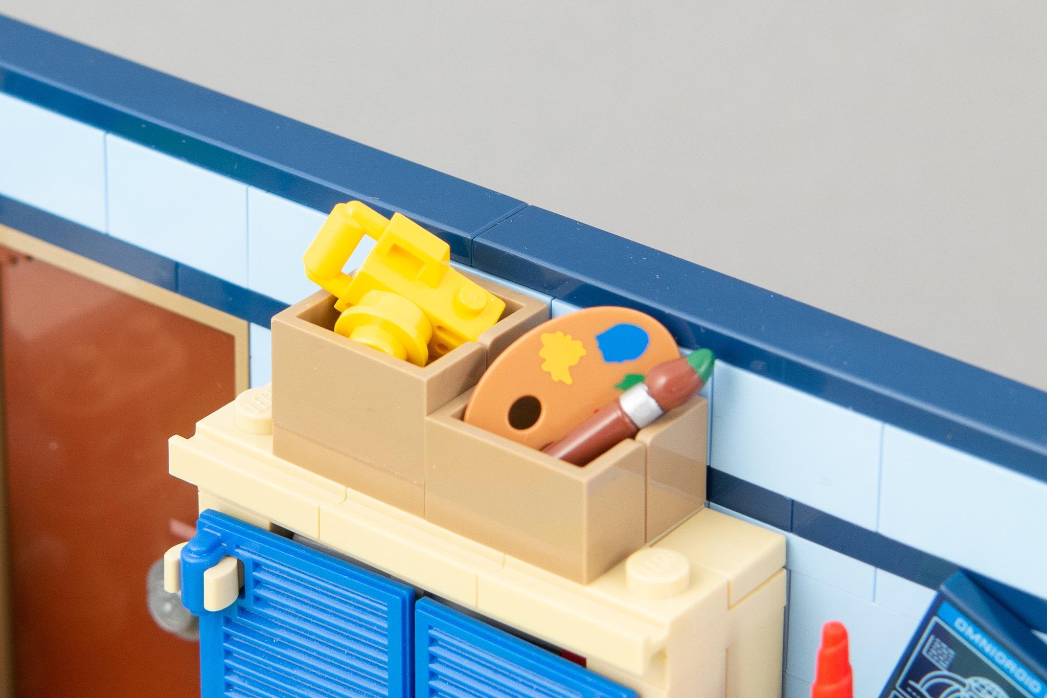 LEGO MOC Kinderzimmer Pappbox