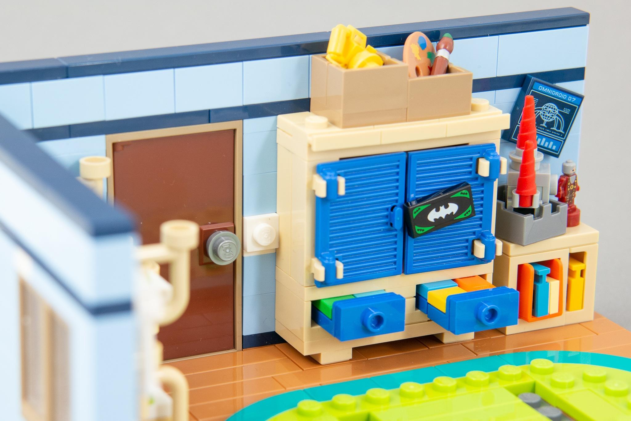 LEGO MOC Kinderzimmer Schrank