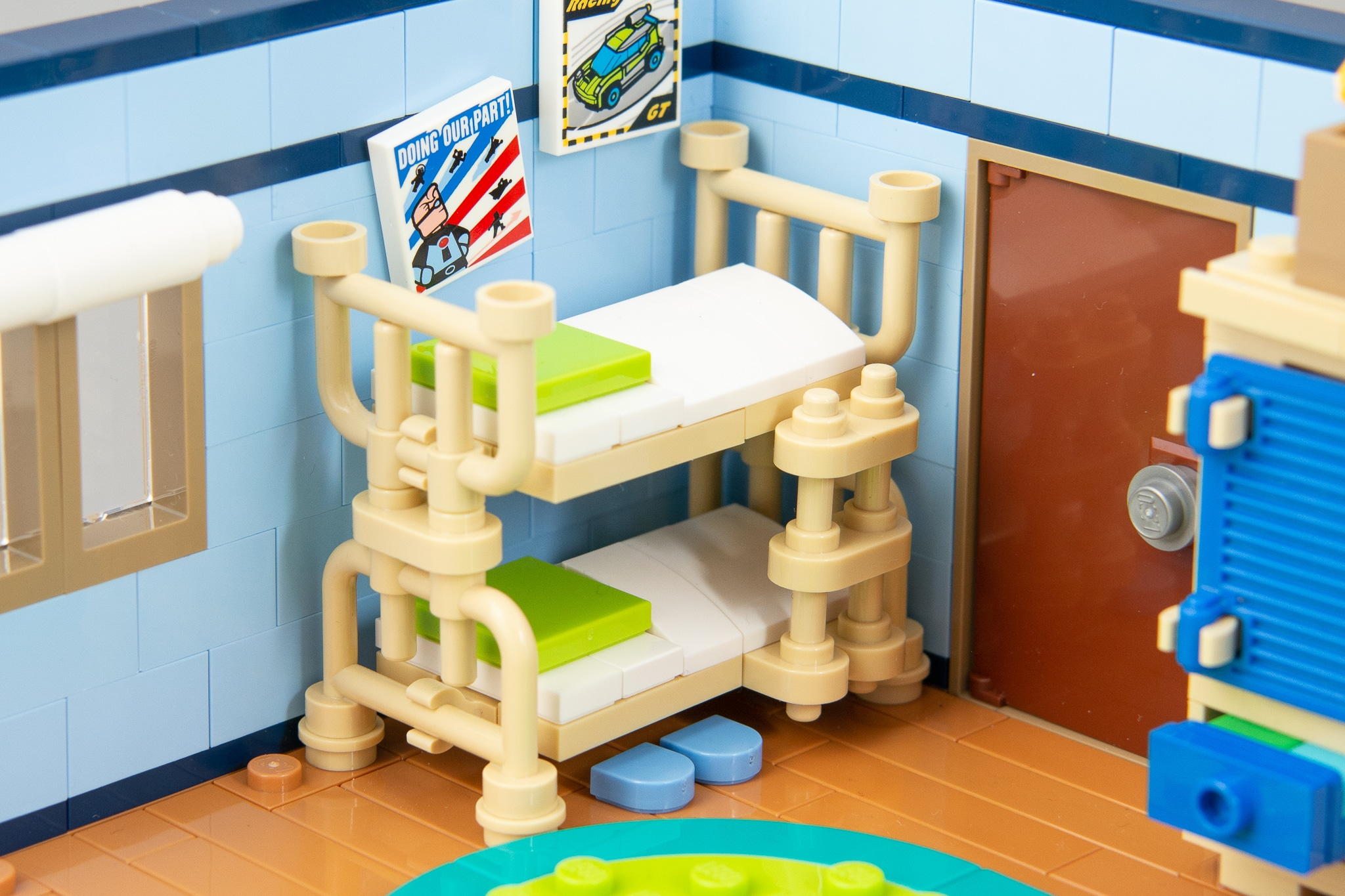 LEGO MOC Kinderzimmer Stockbett