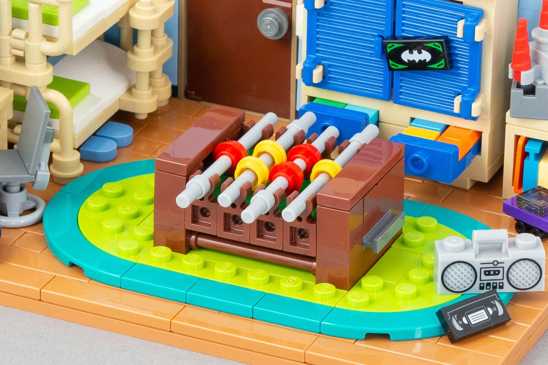 LEGO Kinderzimmer Kicker MOC