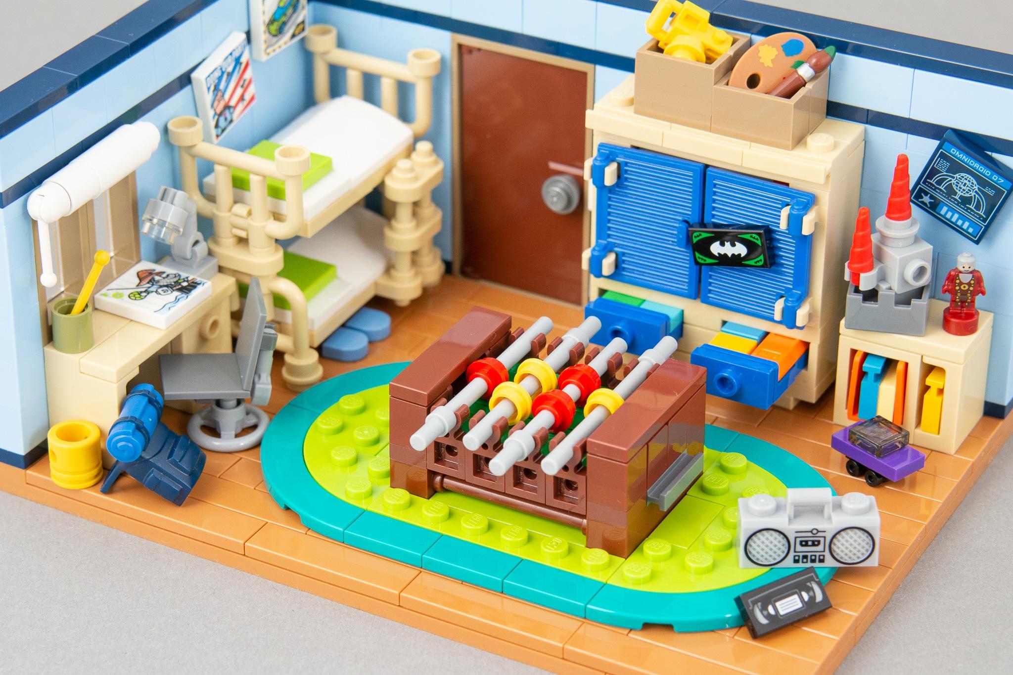 LEGO MOC Kinderzimmer 02