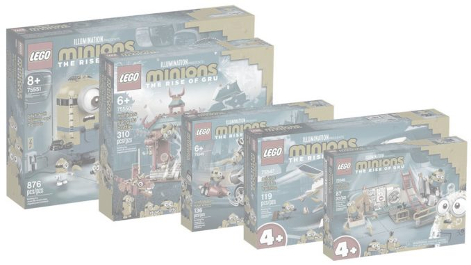 LEGO Minions Sets Release verschoben