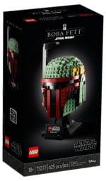 LEGO Star Wars 75277 Boba Fett Helm Box vorne