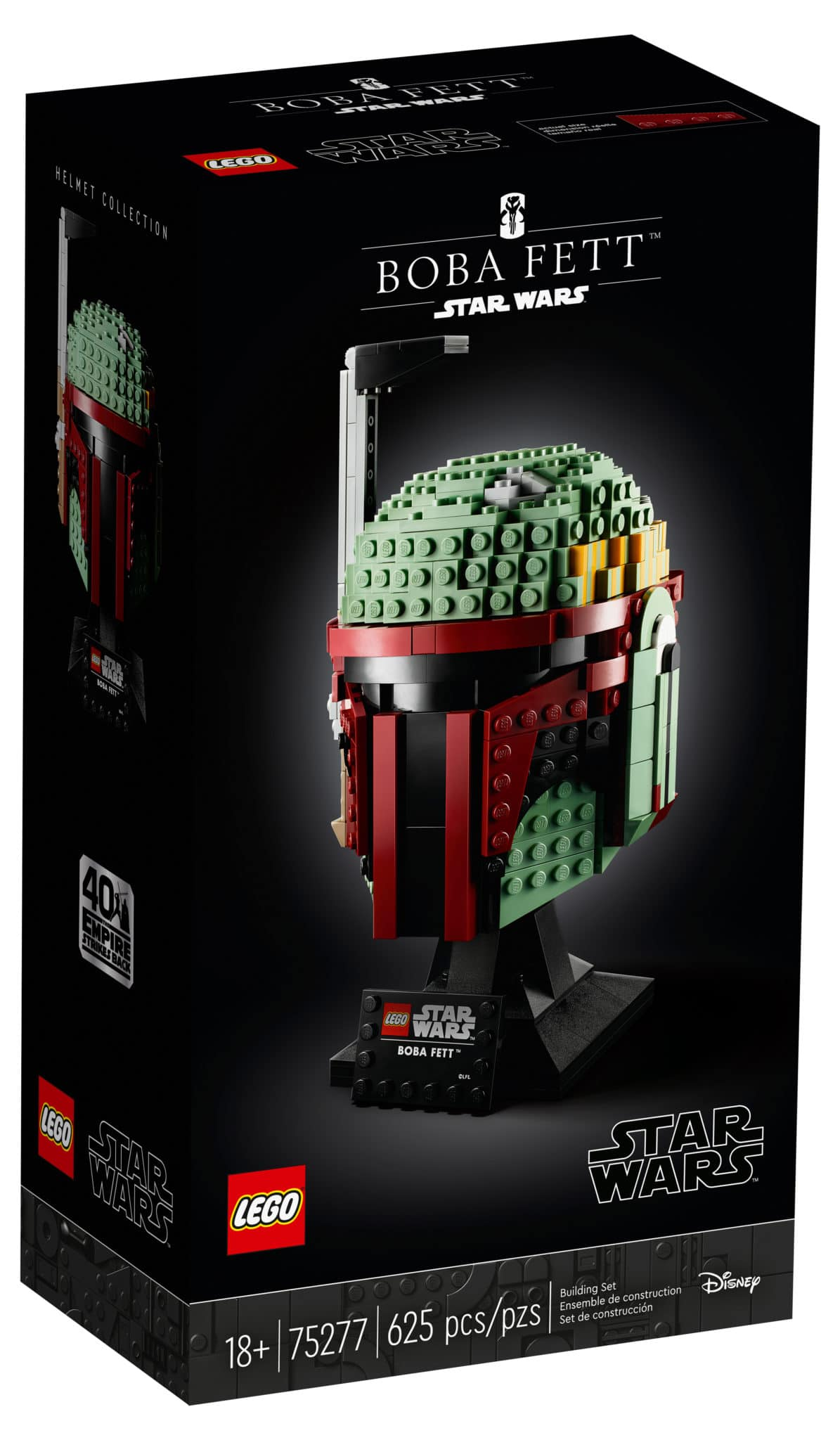 LEGO Star Wars 75277 Boba Fett Helm Box vorne