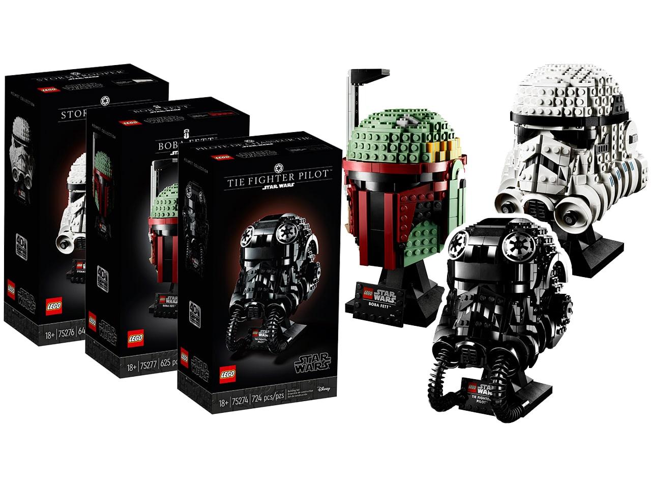LEGO Star Wars Helmet Collection