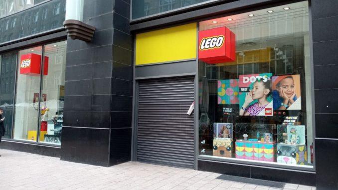 LEGO Brand Stores wegen COVID-19 geschlossen