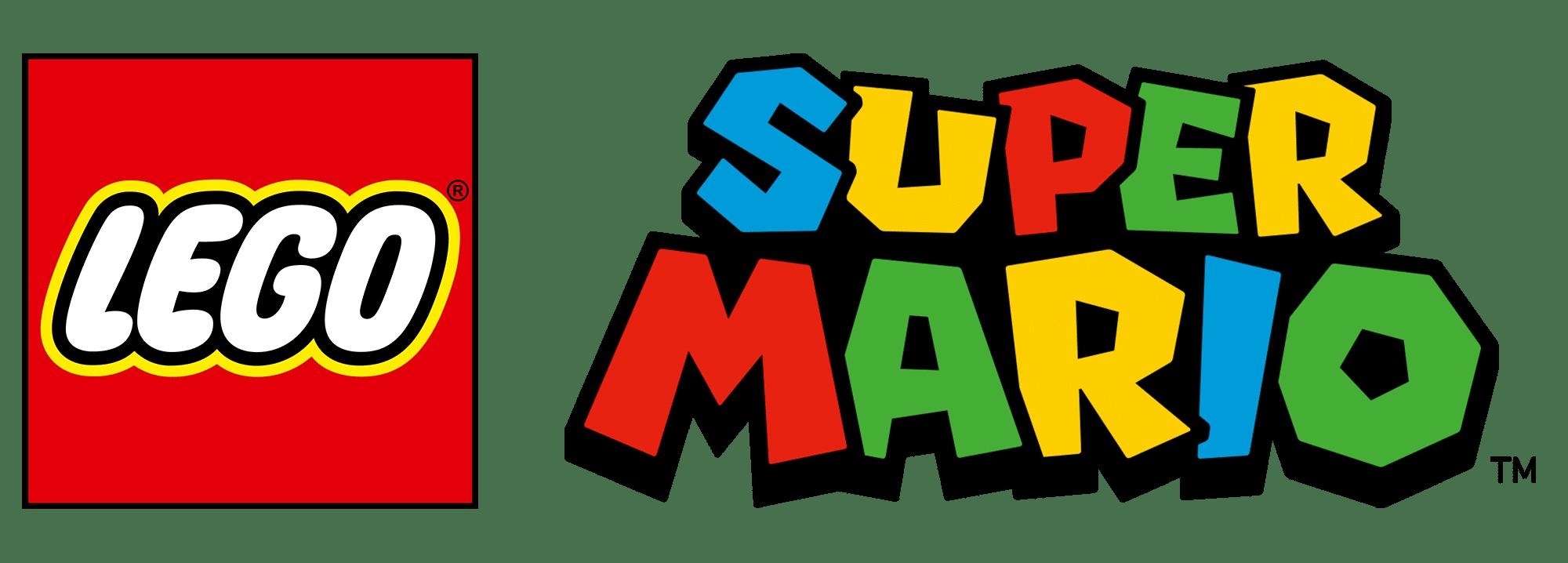 LEGO Super Mario Logo