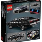 LEGO Technic 42111 Dom's Dodge Charger Box hinten