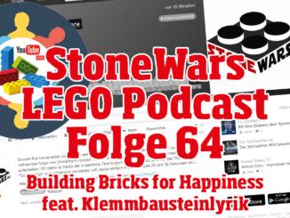 StoneWars Podcast Folge 64 Live feat. Klemmbausteinlyrik