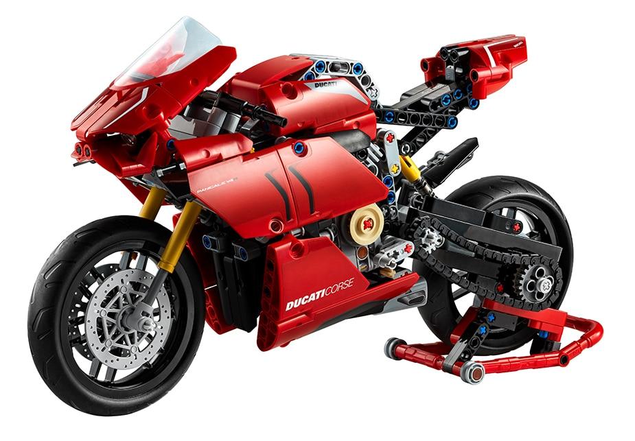 Ducati Panigale V4R als LEGO Modell
