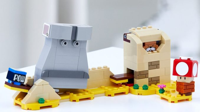 LEGO 40414 Monty Maulwuf und Superpilz Erweiterungsset