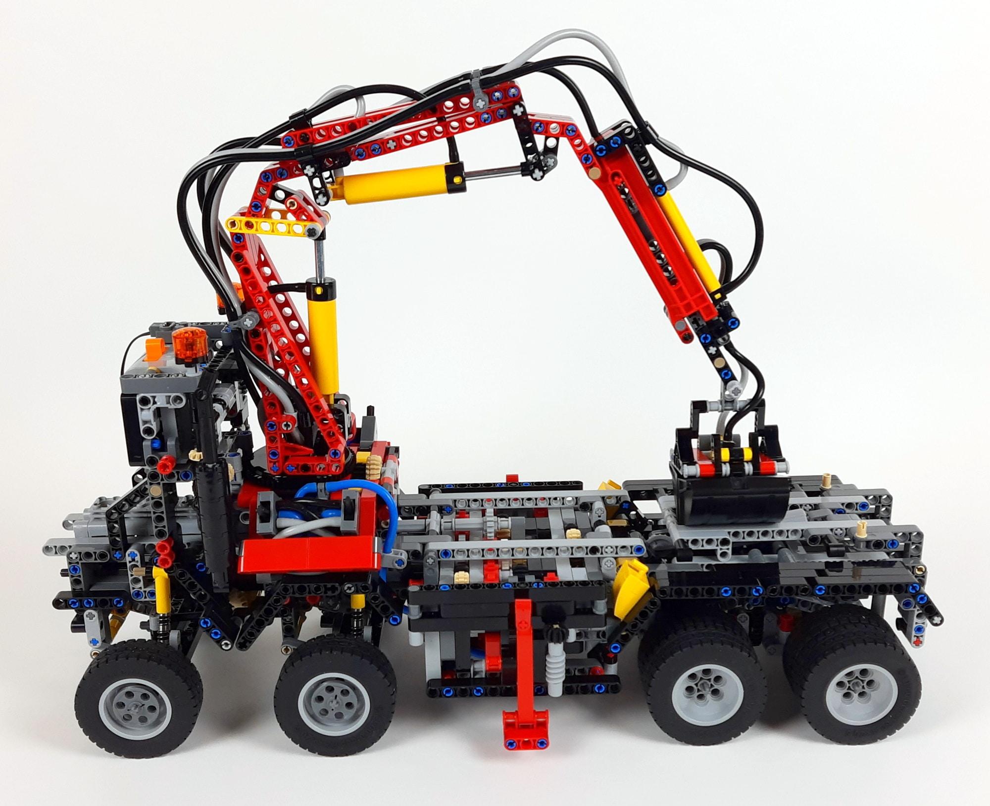LEGO Technic 42043 Mercedes-Benz Arocs 3245 Bauabschnitt 4