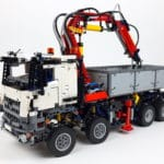 LEGO Technic 42043 Mercedes-Benz Arocs 3245 Bauabschnitt 6