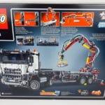 LEGO Technic 42043 Mercedes-Benz Arocs 3245 Box Rückseite