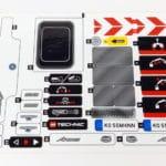 LEGO Technic 42043 Mercedes-Benz Arocs 3245 Stickerbogen