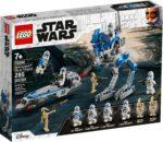 LEGO 75280 Star Wars 501st Legion Clone Troopers (Box Vorderseite)