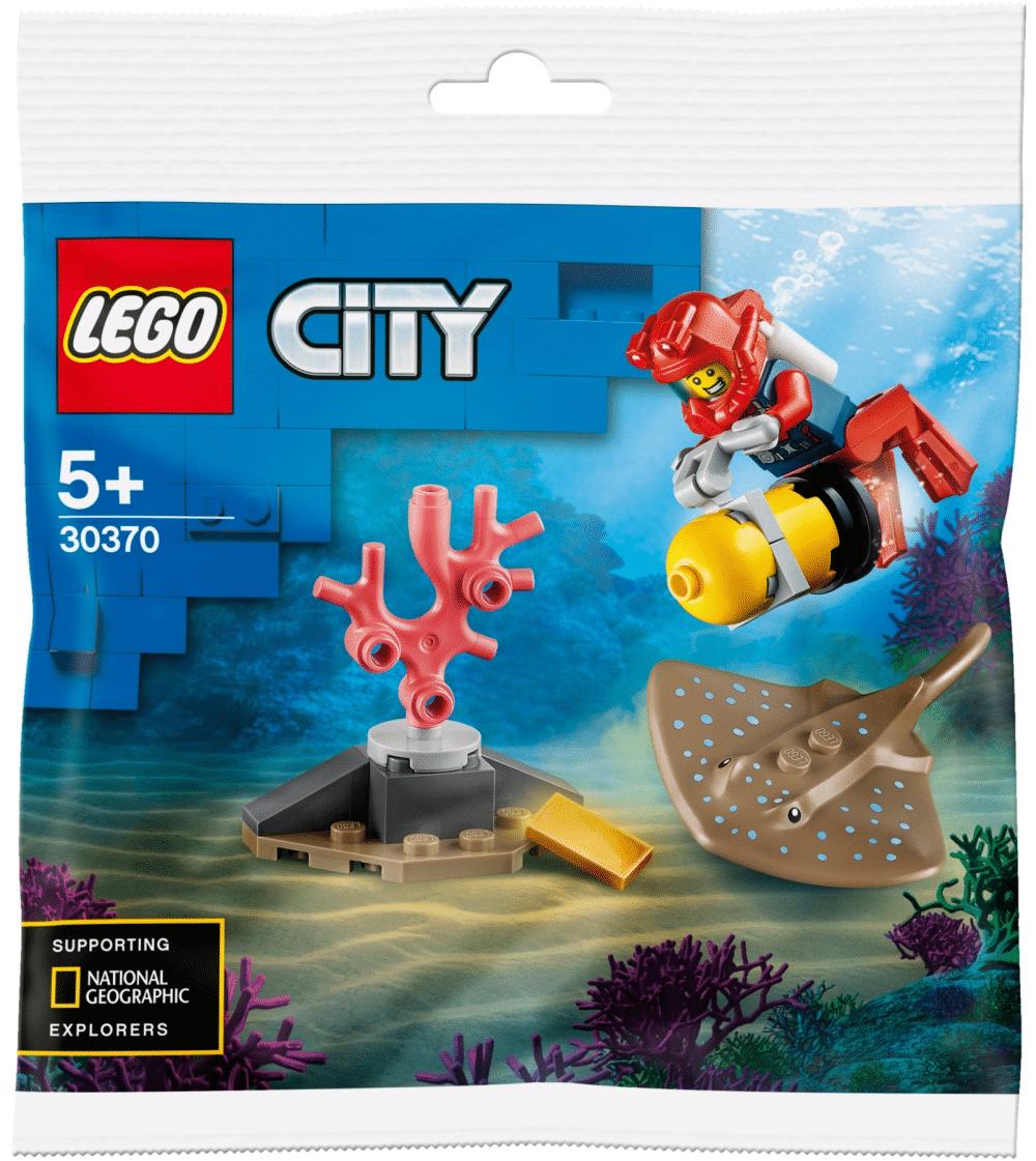 LEGO City 30370 Ocean Diver (Polybag)