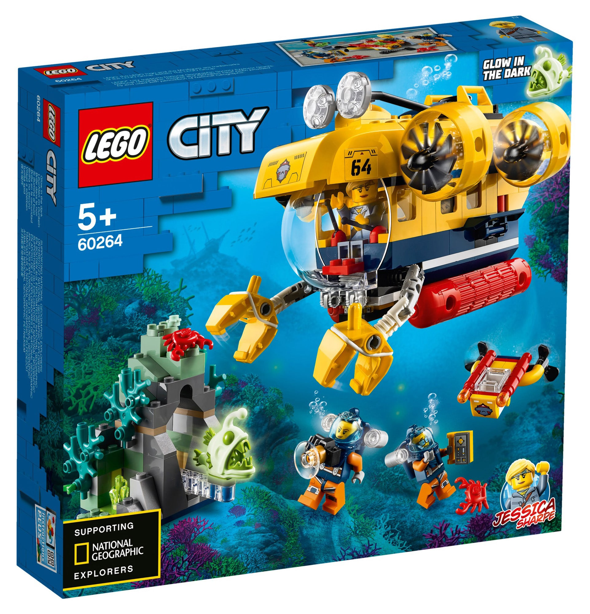 LEGO City 60264 Ocean Exploration Submarine 9