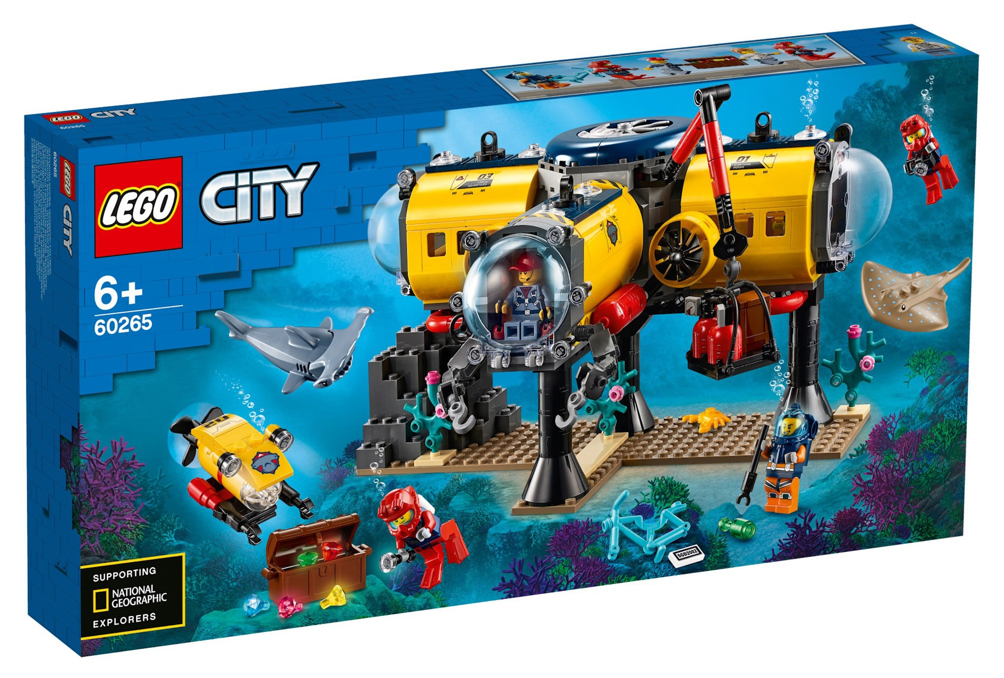 LEGO City 60265 Ocean Exploration Base 13