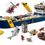 LEGO City 60266 Ocean Exploration Ship 11