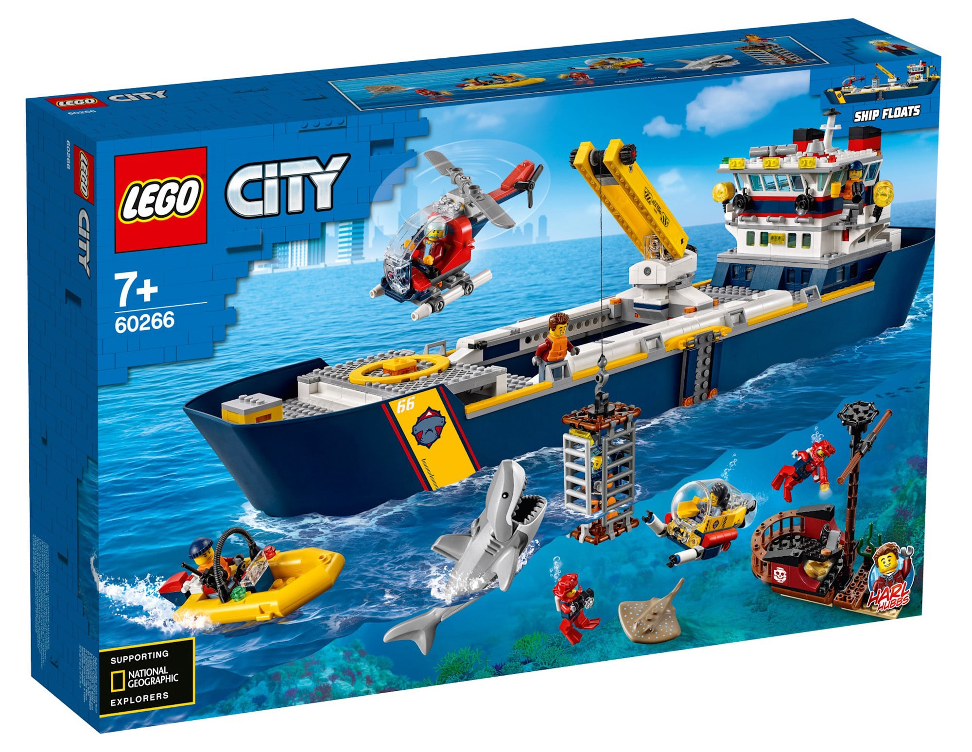 LEGO City 60266 Ocean Exploration Ship 14