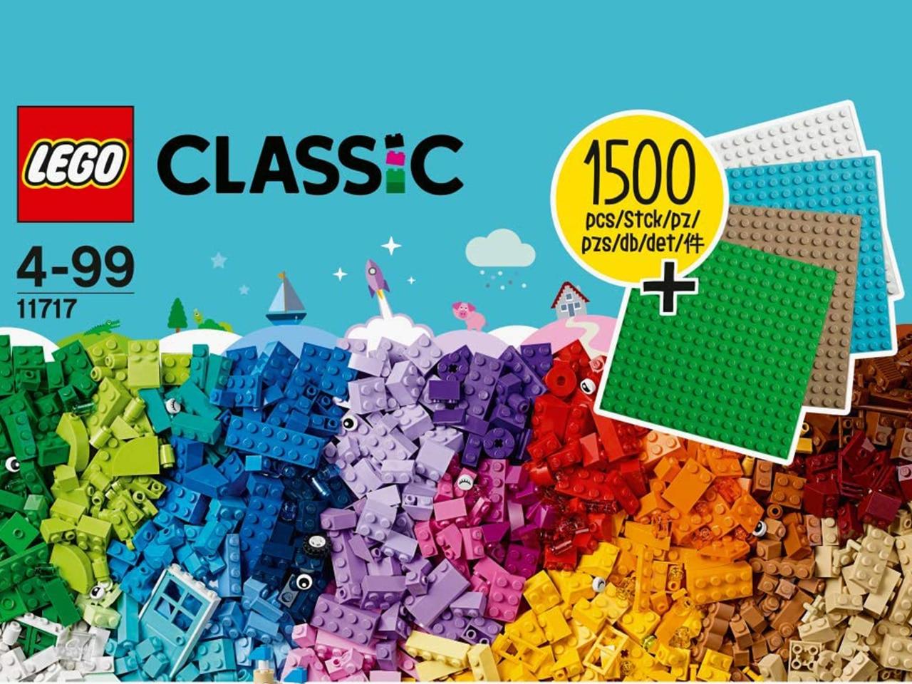 50 Stück in allen Variationen Lego® Platten