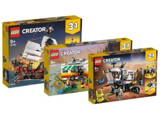 LEGO Creator 3-in-1 Sets Sommer 2020