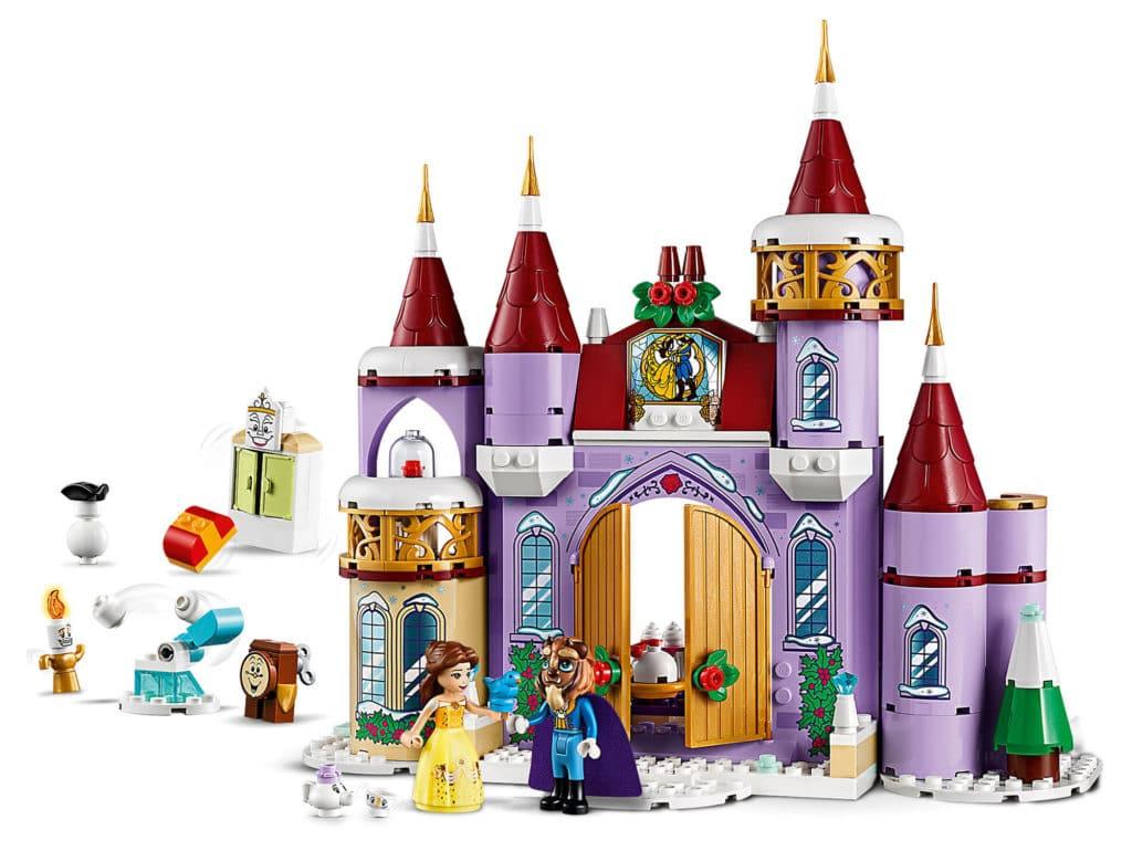 LEGO Disney 43180 Belles Winterliches Schloss