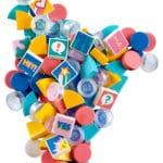 LEGO DOTS 41916 Armband Ergänzungsset Comic