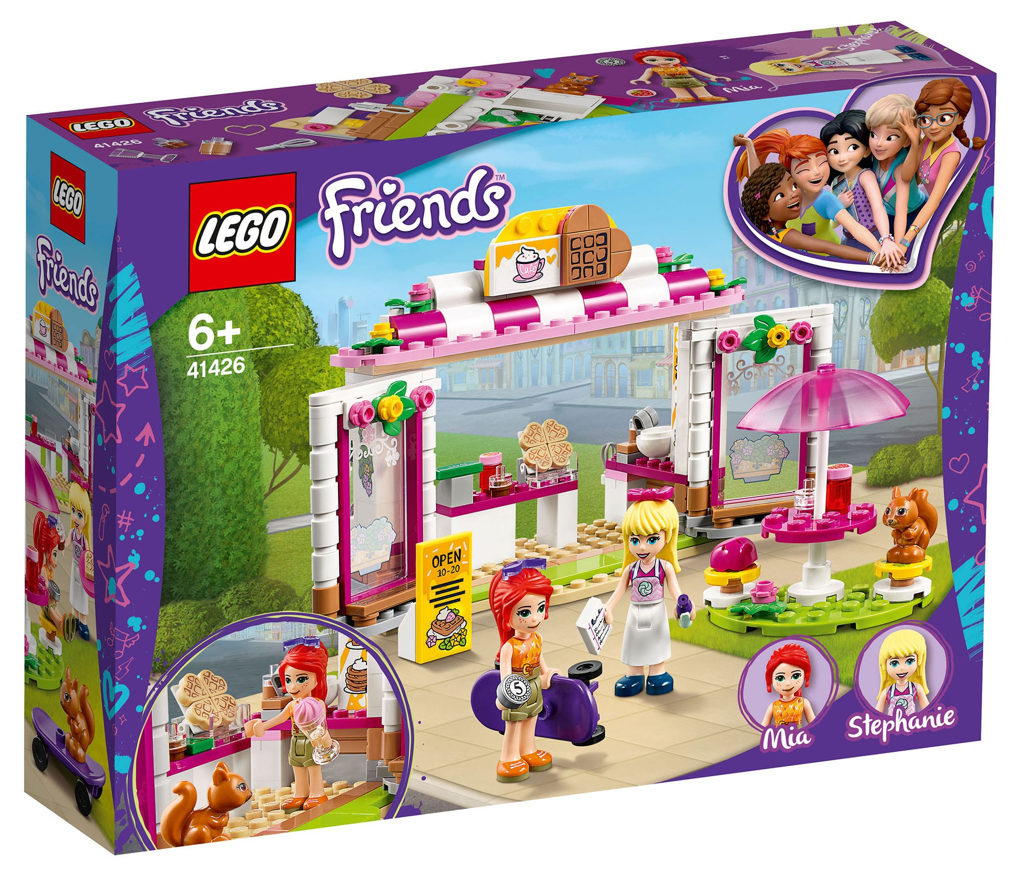 LEGO Friends 41426 Heartlake City Waffelhaus