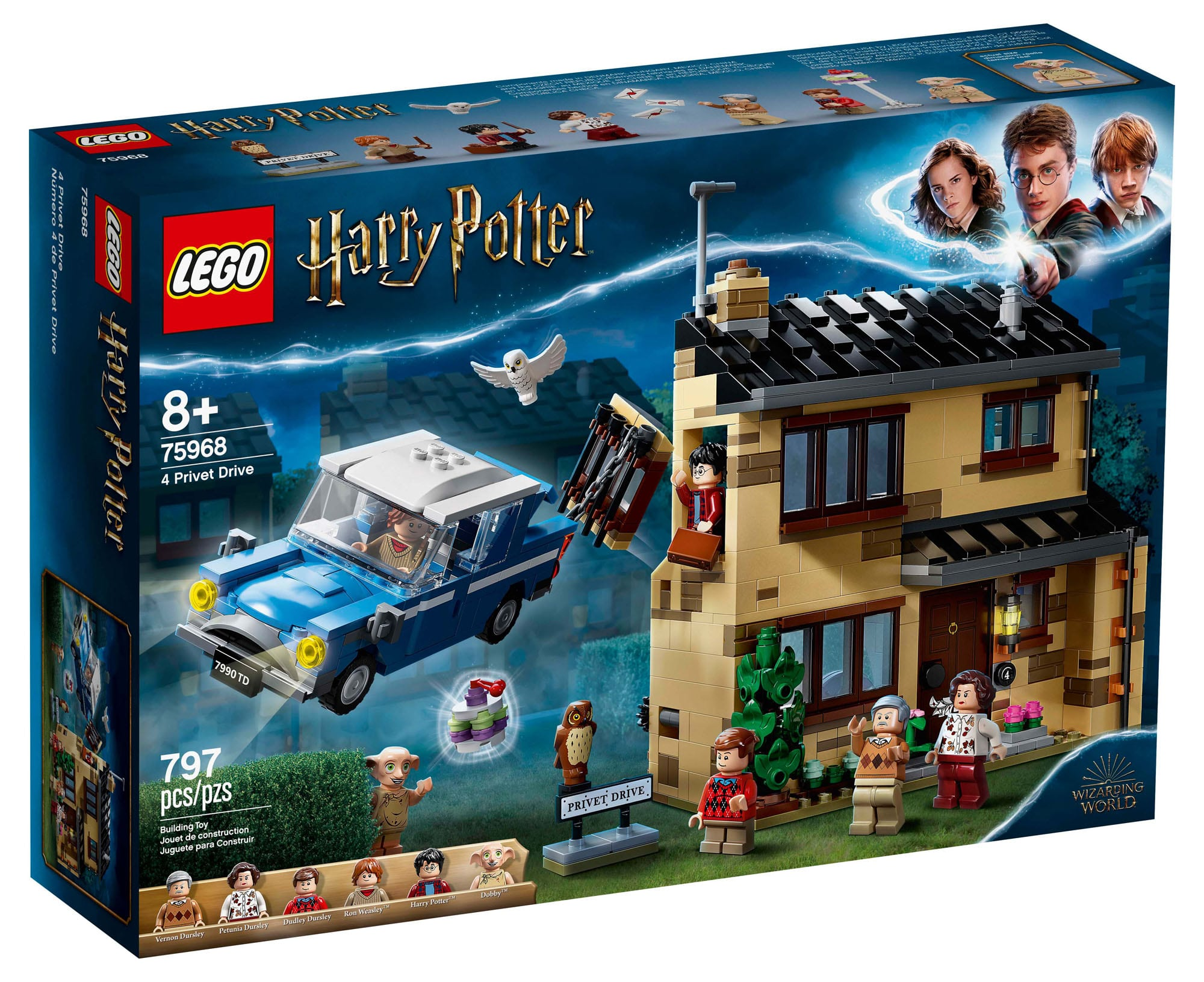 LEGO Harry Potter 75968 Ligusterweg 4 (Box)