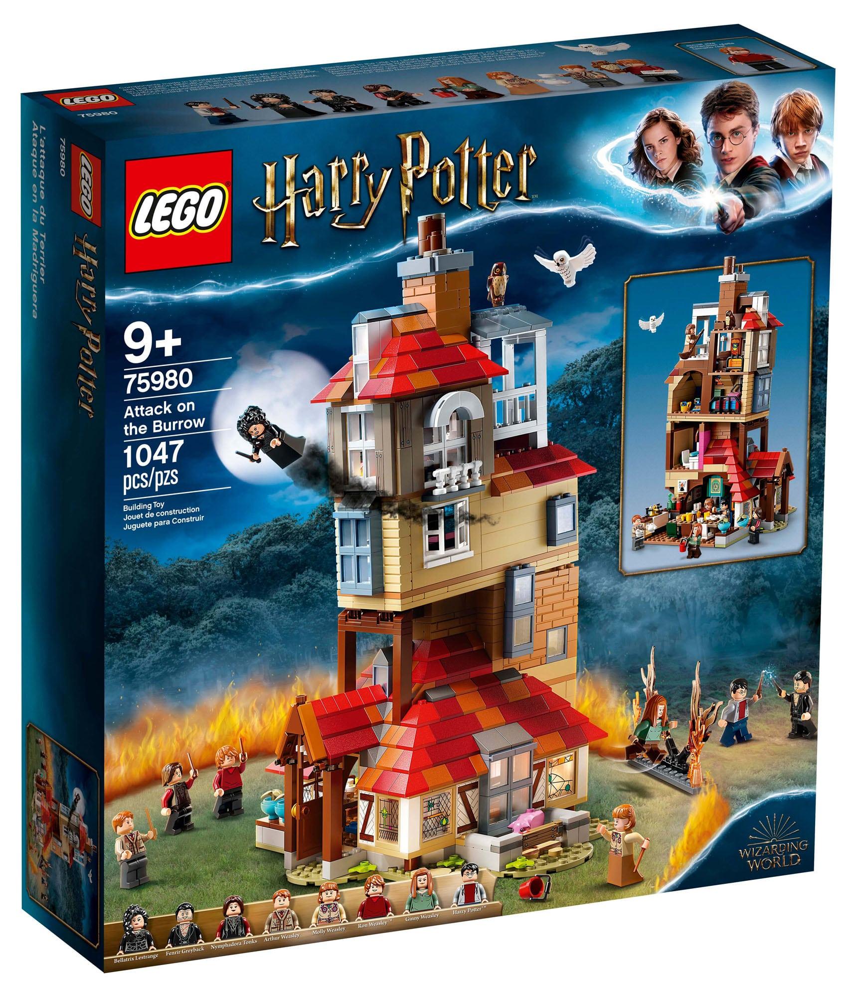 LEGO Harry Potter 75980 Angriff auf den Fuchsbau (Box)
