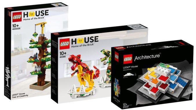 Drei LEGO House Exclusives online verfügbar