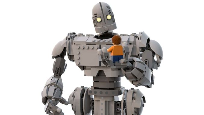 "LEGO Ideas Entwurf zu ""The Iron Giant"""