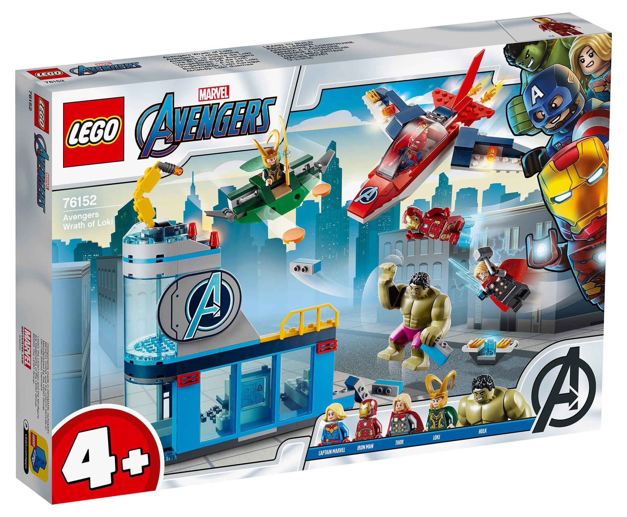 LEGO Marvel Super Heroes 76152 Wrath of Loki