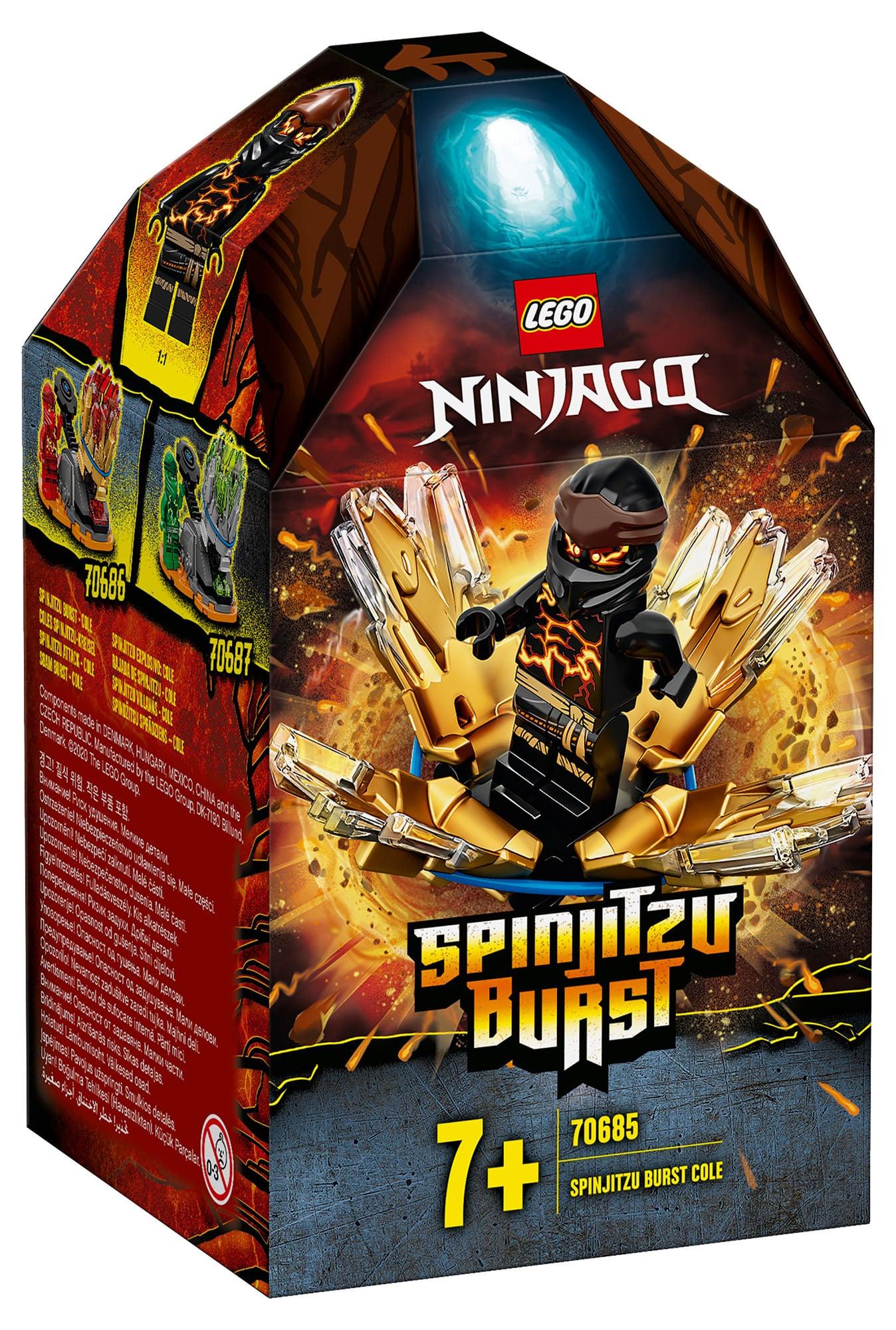 LEGO Ninjago 70685 Coles Spinjitzu Burst