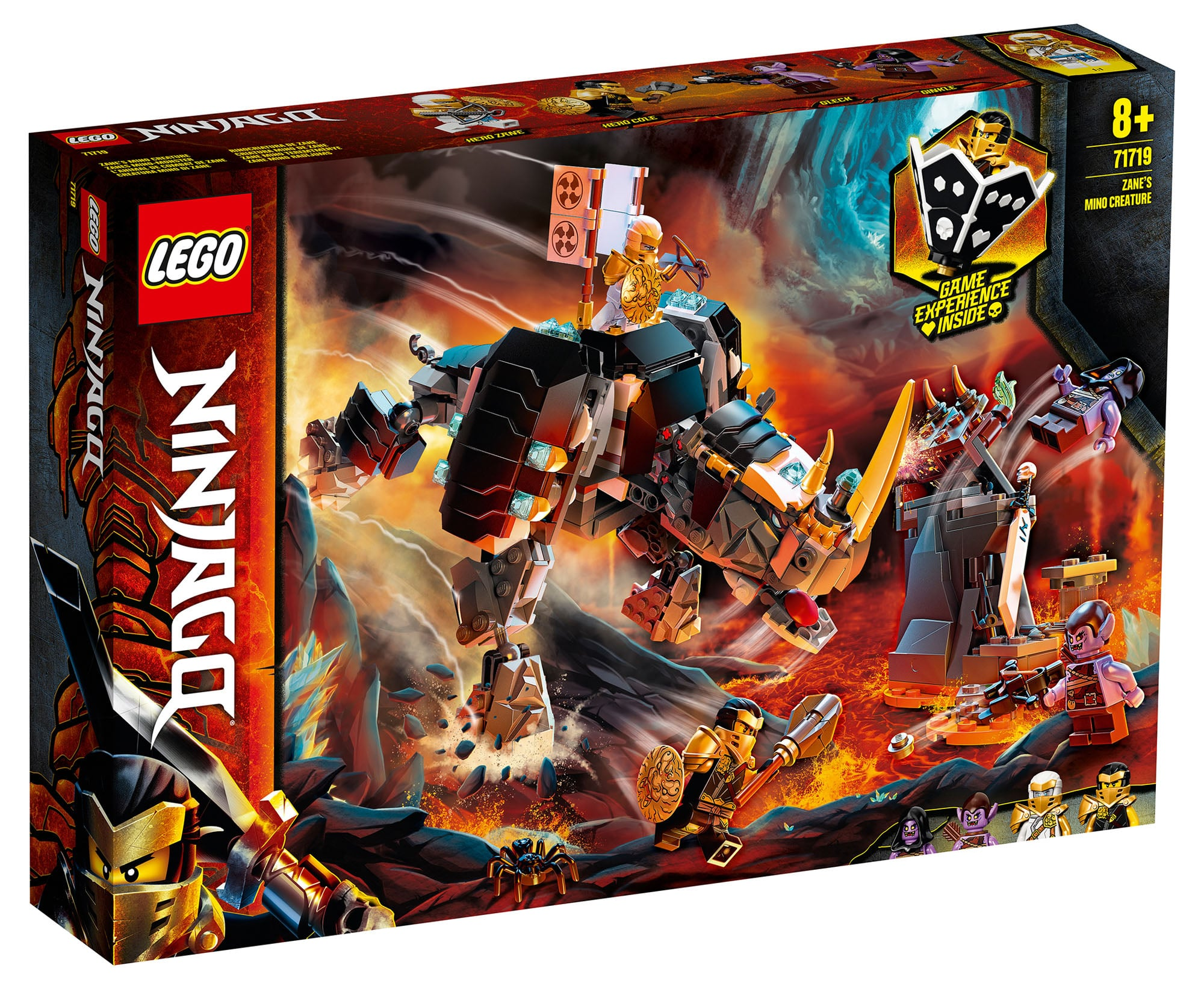 LEGO Ninjago 71719 Zanes Mino-Monster